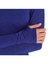 Under Armour - Blue Women's Coldgear® Cozy Crew - Lyst
