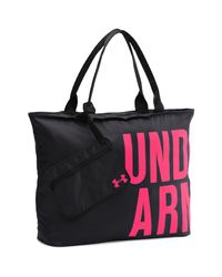 Under Armour | Black Ua Big Wordmark Tote | Lyst