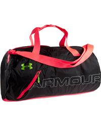 Under Armour | Black Ua Packable Duffle Bag for Men | Lyst