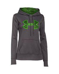 Under Armour - Multicolor Women's Ua Storm Armour® Fleece Printed Big Logo Hoodie - Lyst