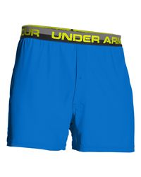 "Under Armour - Blue Men's Ua Original Series 6"" Boxer Shorts for Men - Lyst"