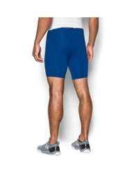 Under Armour | Blue Men's Heatgear® Armour Coolswitch Compression Shorts for Men | Lyst
