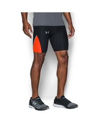 Under Armour - Black Men's Ua Run True Half Tight for Men - Lyst