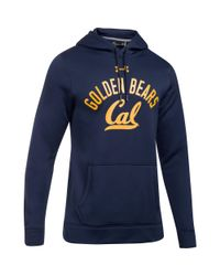 Under Armour - Blue Men's Cal Bears Fleece Hoodie for Men - Lyst