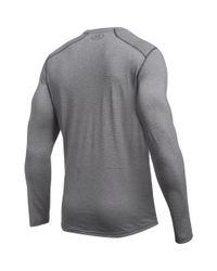 Under Armour - Gray Men's Ua Threadbornetm Long Sleeve for Men - Lyst