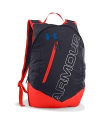 Under Armour - Gray Ua Packable Backpack for Men - Lyst