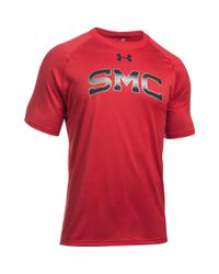 Under Armour - Red Men's St. Mary's Ua Techtm Team T-shirt for Men - Lyst