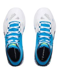 Under Armour - Blue Men's Ua Curry Two Basketball Shoes for Men - Lyst