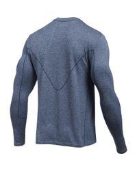 Under Armour - Blue Men's Ua Run Seamless Long Sleeve for Men - Lyst