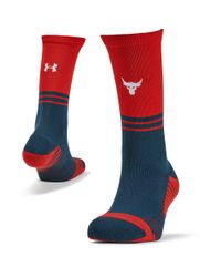Under Armour - Red Ua X Stance Rock Crew for Men - Lyst