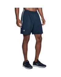 Under Armour Blue Men's Ua Launch Sw 7'' Shorts for men