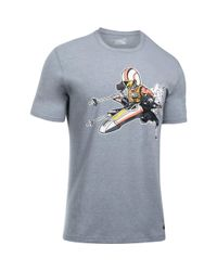 Under Armour Gray Men's Ua Star Wars Xwing Pilot T-shirt for men