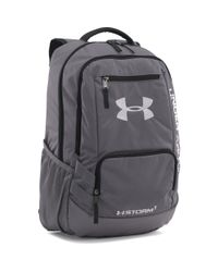 Lyst - Under Armour Ua Team Hustle Backpack in Gray for Men 2b05c7d636f8f