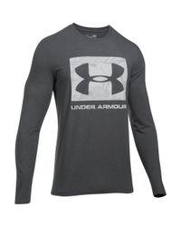 Under Armour - Gray Men's Ua Camo Knockout Long Sleeve T-shirt for Men - Lyst