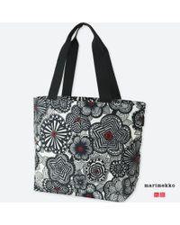 Uniqlo - Black Women Marimekko Tote Bag - Lyst