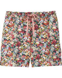 Uniqlo - Pink Women Liberty London Lounge Shorts - Lyst