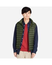 Uniqlo - Multicolor Men Ultra Light Down Vest for Men - Lyst