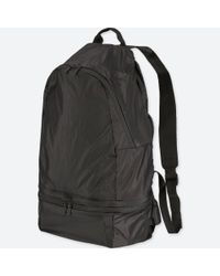 Uniqlo - Black Pocketable Bag - Lyst