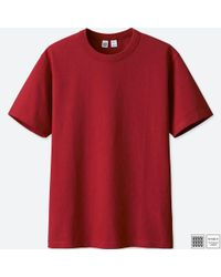 Uniqlo - Red Men U Crew Neck Short-sleeve T-shirt for Men - Lyst