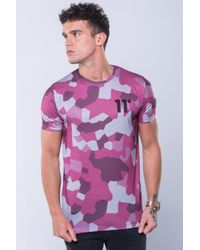 11 Degrees - Purple Sub Tee for Men - Lyst