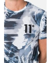 11 Degrees - Blue Sub T-shirt for Men - Lyst