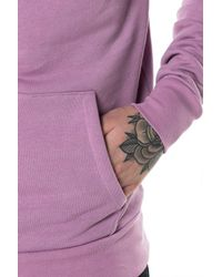 11 Degrees - Pink Core Pull Over Hoodie for Men - Lyst