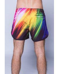 11 Degrees - Multicolor Printed Retro Swimshort for Men - Lyst