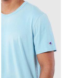Champion - Blue Reverse Weave T-shirt for Men - Lyst