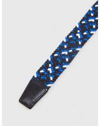 Carhartt - Blue Reynolds Plaited Belt for Men - Lyst