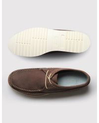 GRENSON - Brown Owen Moccasins - Lyst