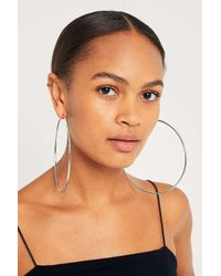 Urban Outfitters - Metallic Oversized Hoop Earrings - Womens All - Lyst