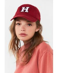 Urban Outfitters - Red Harvard Crew Baseball Hat - Lyst
