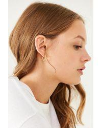 Urban Outfitters - Metallic Chunky Hoop Earring Set - Lyst