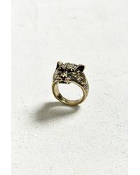 Urban Outfitters - Metallic Panther Ring - Lyst