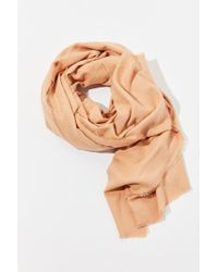 Urban Outfitters - Multicolor Brushed Woven Blanket Scarf - Lyst