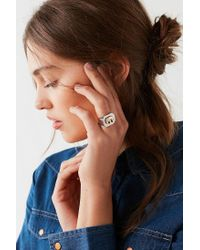 Urban Outfitters - Metallic Elephant Signet Ring - Lyst