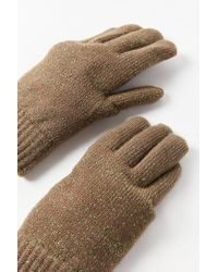Urban Outfitters - Green Glitter Chenille-lined Glove - Lyst