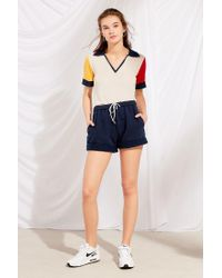 Urban Outfitters - Blue Urban Renewal Remade Rolled Hem Short - Lyst