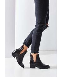 Jeffrey Campbell | Black Oriley Cutout Ankle Boot | Lyst