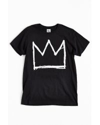 Junk Food - Black Basquiat Crown Tee for Men - Lyst