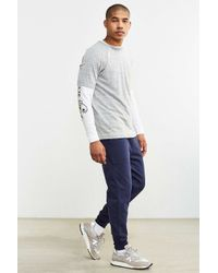 BDG - Blue Knit Jogger Pant for Men - Lyst
