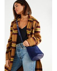 Urban Outfitters - Blue Satin Mini Backpack - Lyst