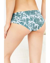 Out From Under - Gray Printed No Lines Laser-cut Hipster - Lyst