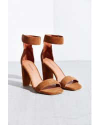 Jeffrey Campbell | Brown Holvey Suede Sandals | Lyst