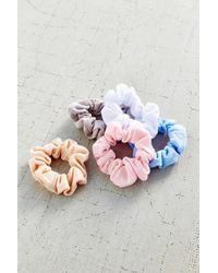 Urban Outfitters | Blue Days Of The Week Scrunchie Set | Lyst