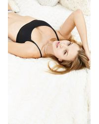 Urban Outfitters - Black Fusion Scoopneck Bra - Lyst