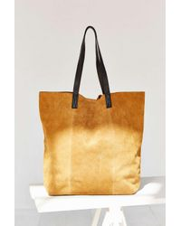 BDG | Brown Suede Tote Bag | Lyst