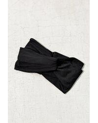 Urban Outfitters - Black Crisscross Bella Headwrap - Lyst