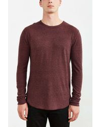 BDG | Purple Winterlite Crew Neck Tee for Men | Lyst