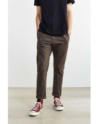 Dickies | Brown X Uo Slim Tapered Herringbone Pant for Men | Lyst